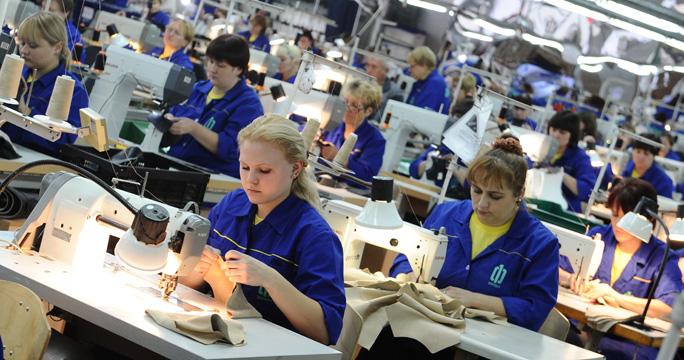 работа в легкой промышленности