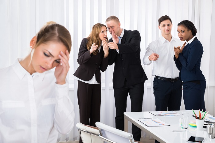 напряженные отношения на работе